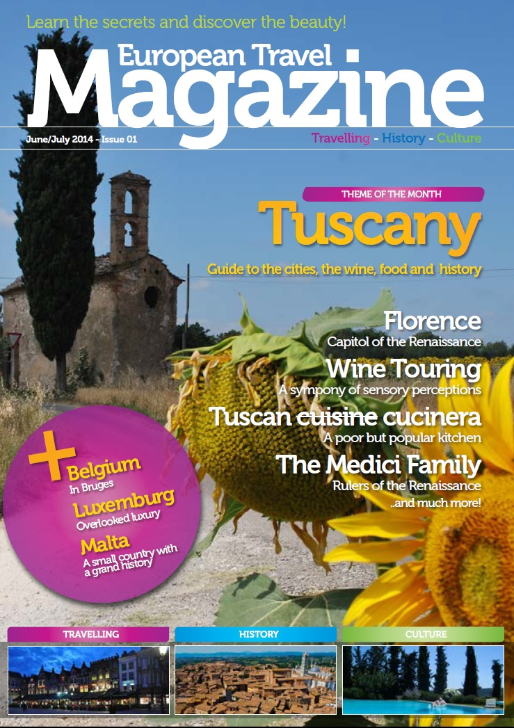 Subscribe To Our FREE Monthly Newsletter And As A THANK YOU Well Give You Tuscany Edition Magazine Download